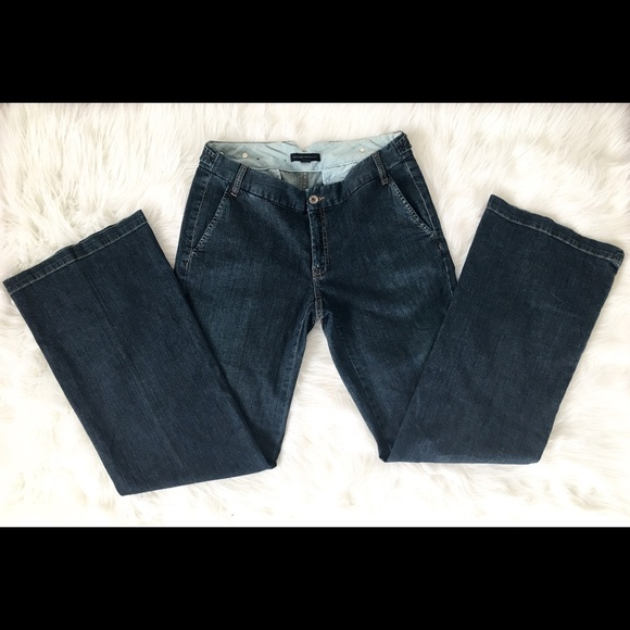 Banana Republic Denim - Banana Republic dark wash size 6 jeans